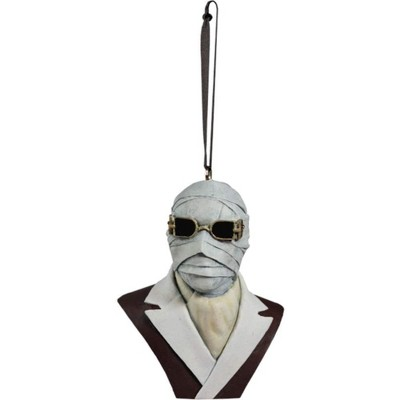 Trick Or Treat Studios Universal Monsters Holiday Horrors Ornament | The Invisible Man