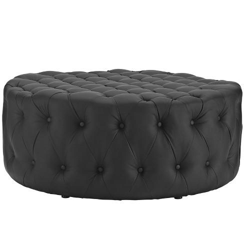Fantastic Amour Upholstered Vinyl Ottoman Modway Uwap Interior Chair Design Uwaporg
