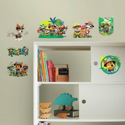Paw Patrol Jungle Peel and Stick Wall Decal - RoomMates
