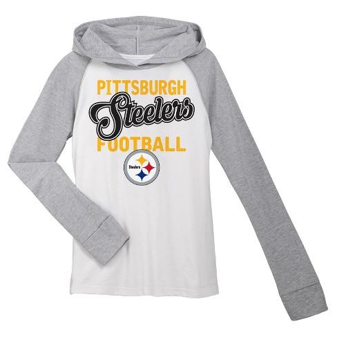 Pittsburgh Steelers Girls  Lightweight Hoodie Pullover   Target 71aae3eb1