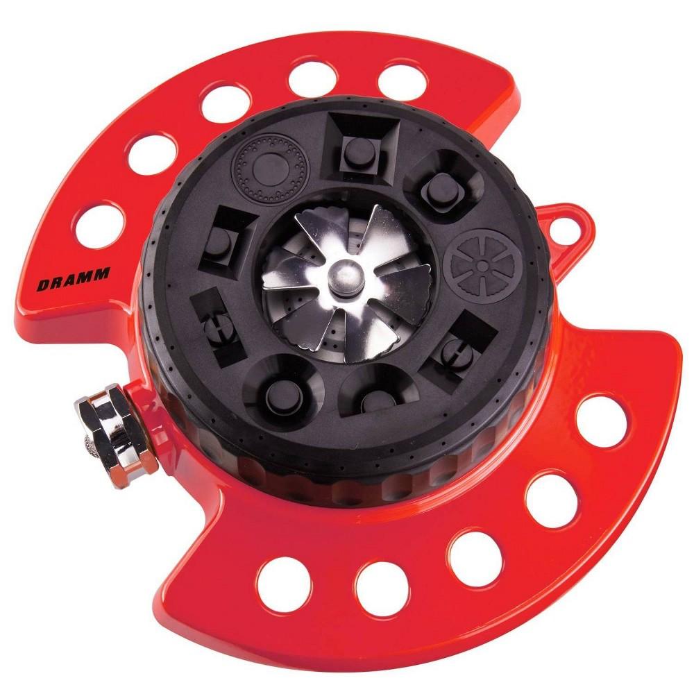 Image of ColorStorm 9 Pattern Turret Sprinkler Red- Dramm