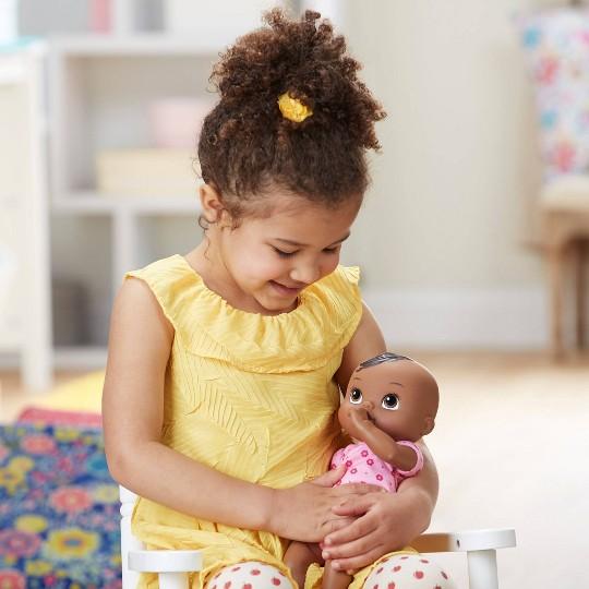 Baby Alive Luv 'n Snuggle Baby Doll Black Hair image number null
