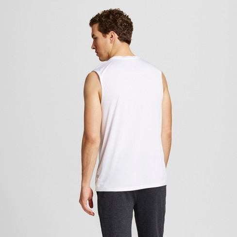6e33022b Men's Sleeveless Tech T-Shirt - C9 Champion® White XXL : Target