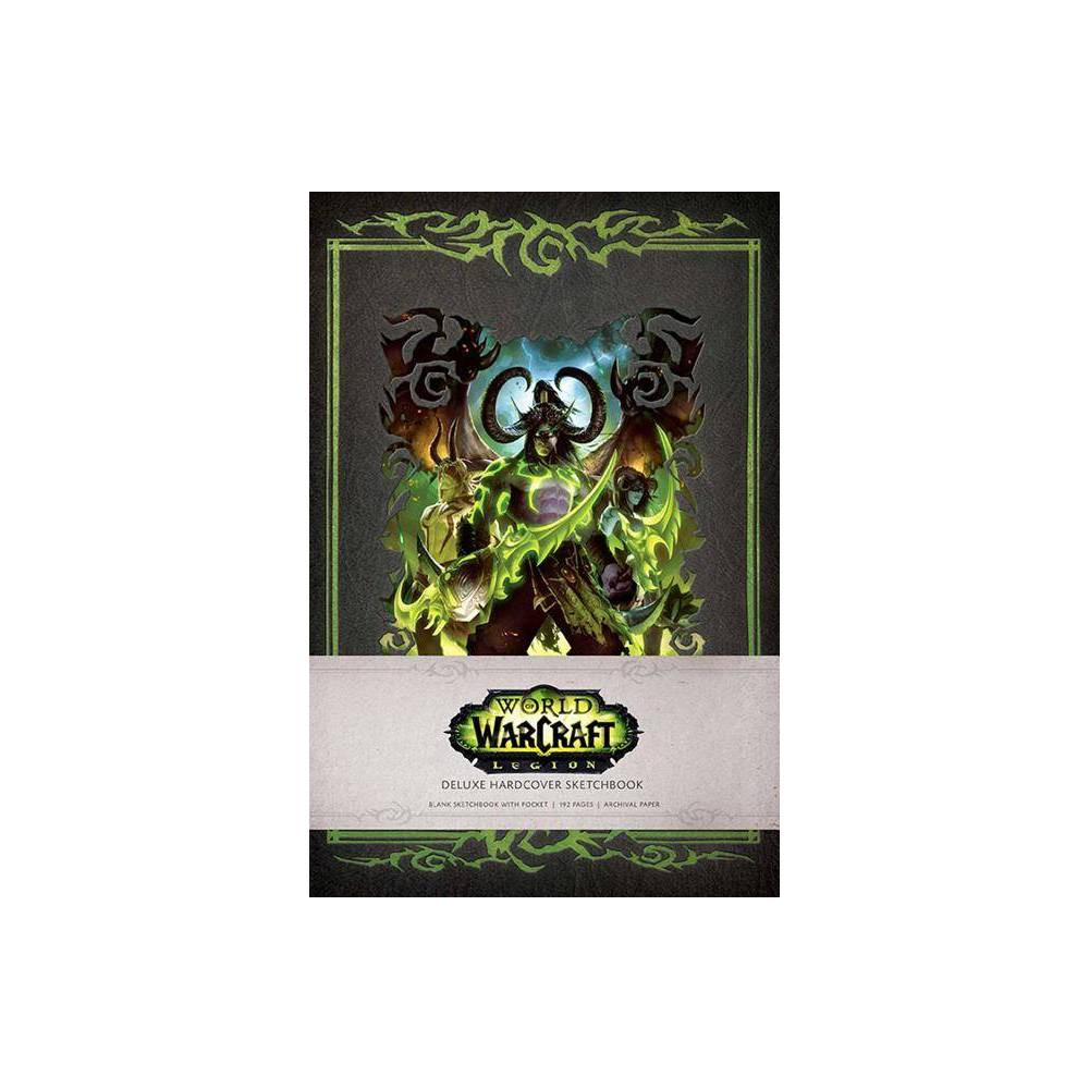 World Of Warcraft Legion Hardcover Blank Sketchbook Volume 1 Gaming By Blizzard Entertainment