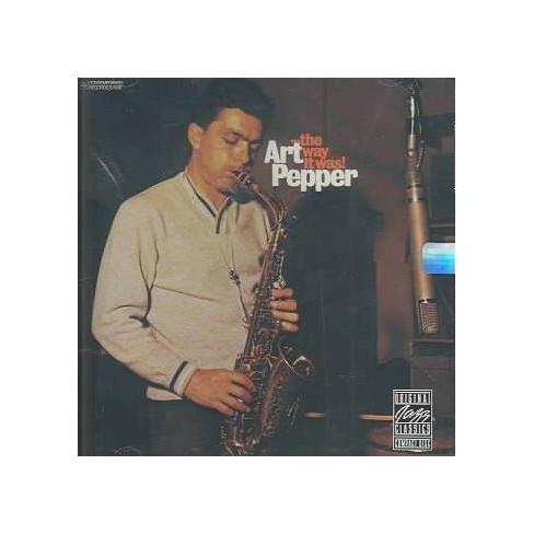 Art Pepper - Way It Was (CD) - image 1 of 1