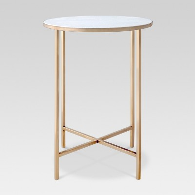 Marlton End Table Gold - Threshold™