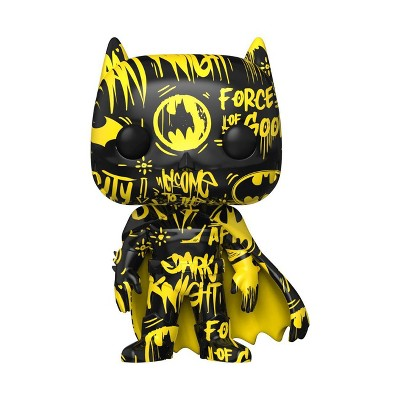 Funko POP! Heroes: DC - Batman Black and Yellow with Case (Artist Series) (Target Exclusive)