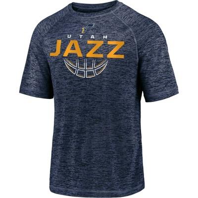 NBA Utah Jazz Men's Synthetic Short Sleeve T-Shirt