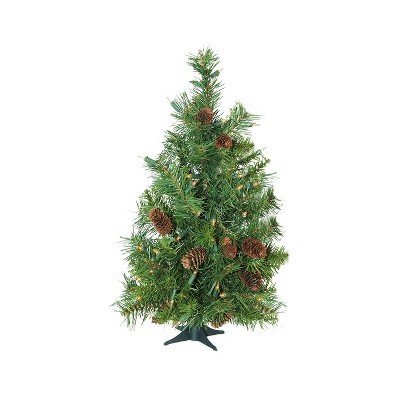 Northlight 3' Pre-Lit Artificial Christmas Tree Full Dakota Pine - Clear Lights