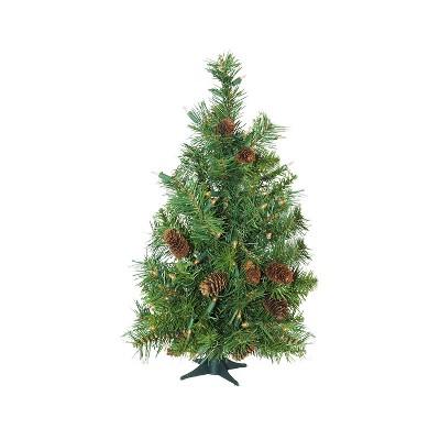 Northlight 3' Pre-Lit Artificial Christmas Tree Full Dakota Pine - Clear Dura Lights