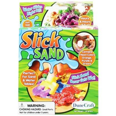 Slick Sand 168gm: Orange, Purple & Green