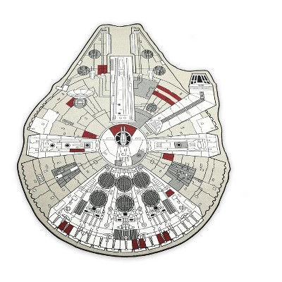 """4'7""""x6'6"""" novelty Area Rug Multicolored - Star Wars"""