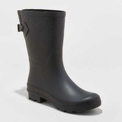 Women's Vicki Mid Calf Rubber Rain Boots - A New Day™