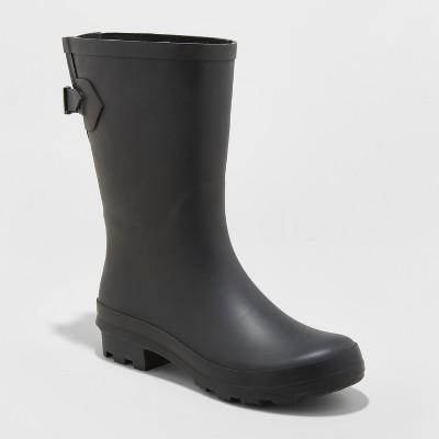 5525c9dfb403 Women s Vicki Mid Calf Rain Boots - A New Day™