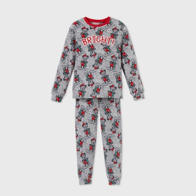 Kids' Mickey Mouse & Friends 2pc Pajama Set - Gray 4 - Disney Store