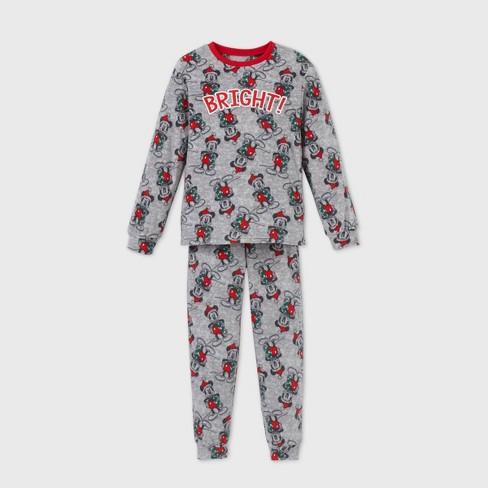 Kids' Mickey Mouse & Friends 2pc Pajama Set - Gray 4 - Disney Store - image 1 of 2