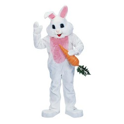 Premium Rabbit Adult Costume One Size-White