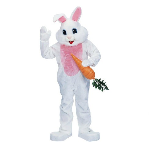 Premium Rabbit Adult Costume One Size Fits Most-White - image 1 of 1