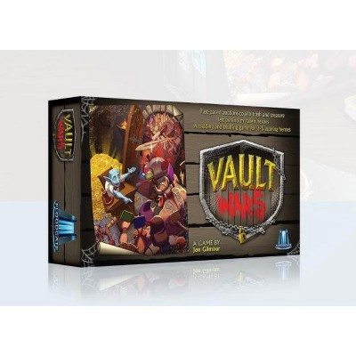 Vault Wars (2nd Edition) Board Game