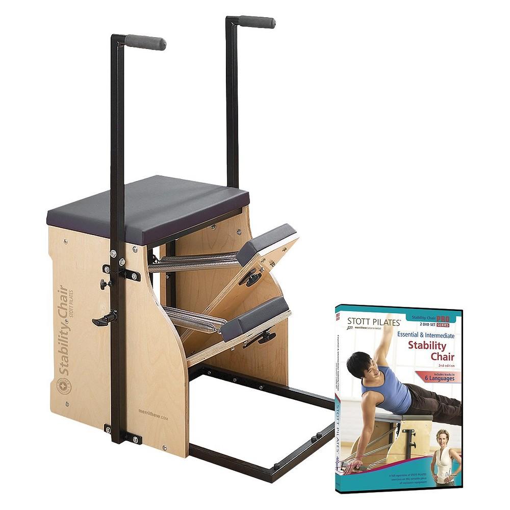 Stott Pilates Merrithew Split-Pedal Stability Chair with Handles
