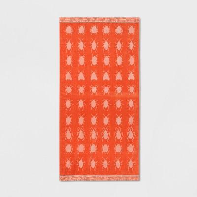 XL Love Bugs Beach Towel Coral - Opalhouse™