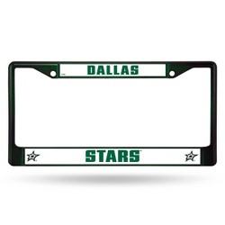 NHL Dallas Stars Colored Chrome License Plate Frame