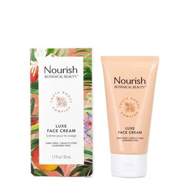 Nourish Organic Botanical Beauty Luxe Face Cream - 1.7 fl oz