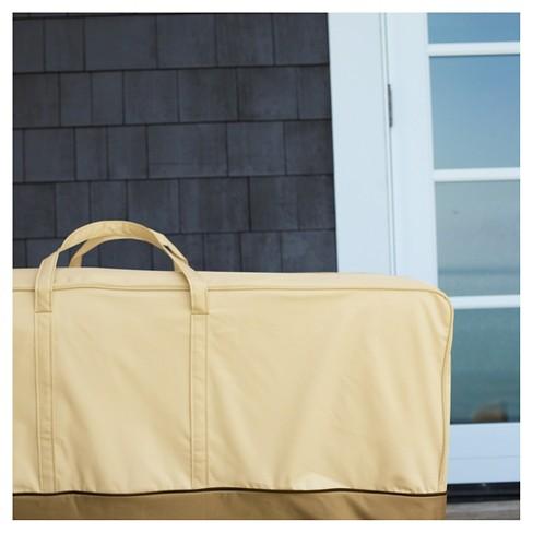 Veranda Oversized Patio Cushion And Cover Storage Bag Light Pebble