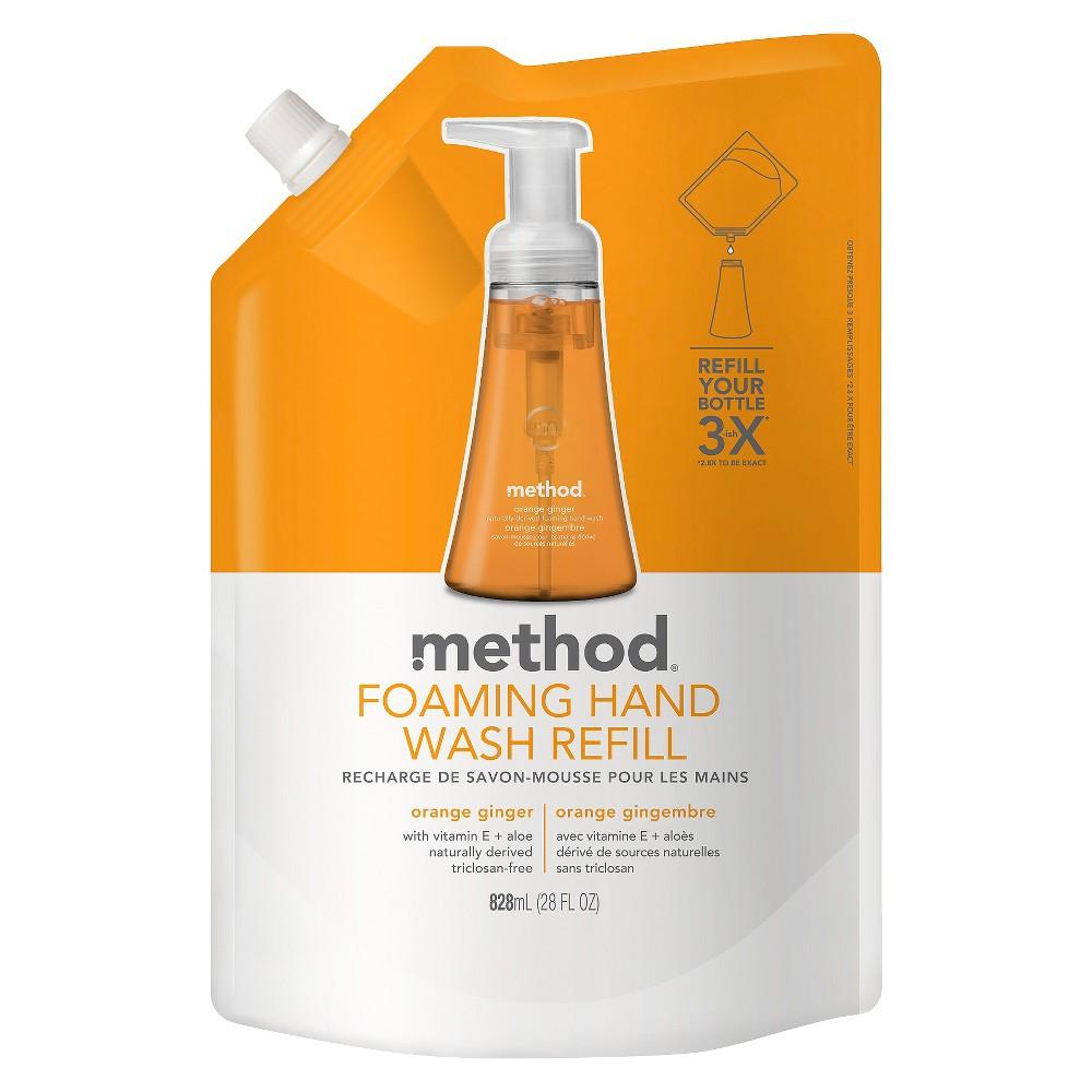 Image of Method Foaming Hand Soap Refill Orange Ginger - 28 fl oz