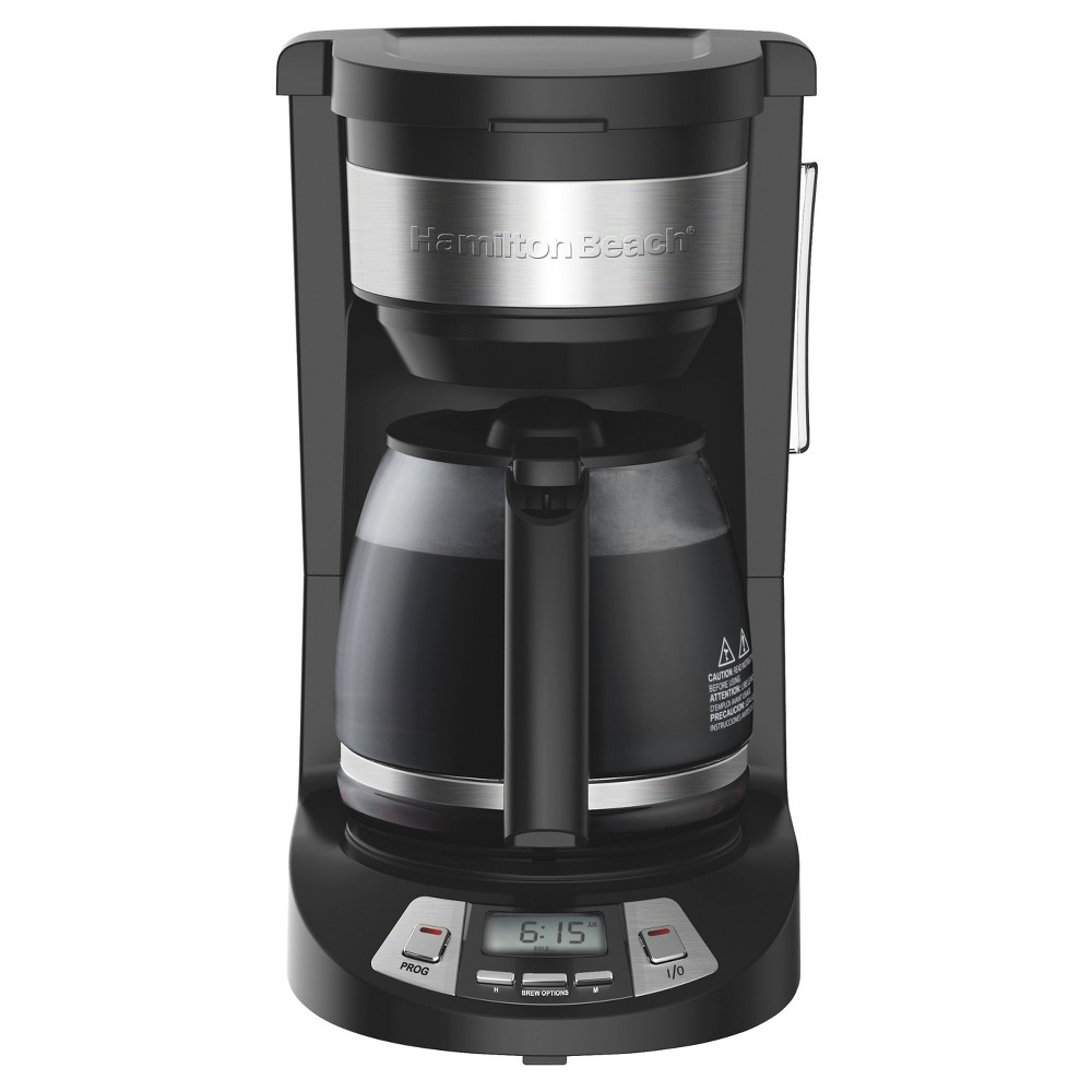 Hamilton Beach 12 Cup Programmable Coffee Maker – Black 46290 52580270