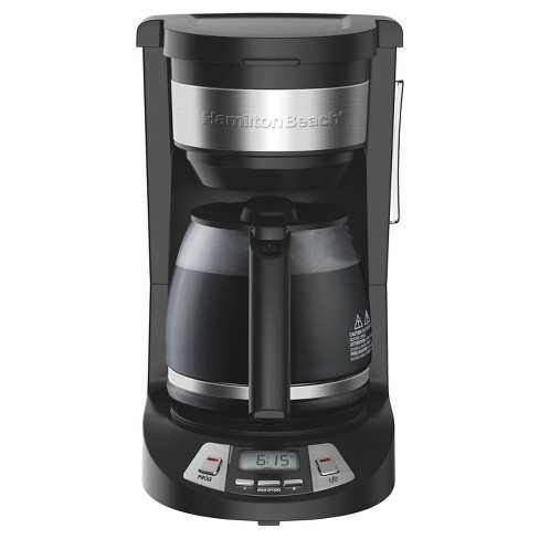 789488988791 Hamilton Beach 12 Cup Programmable Coffee Maker - Black 46290   Target