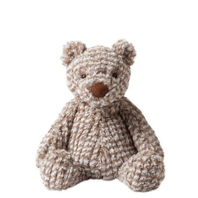 "Manhattan Toy Adorables Rowan Bear Stuffed Animal, 8"""