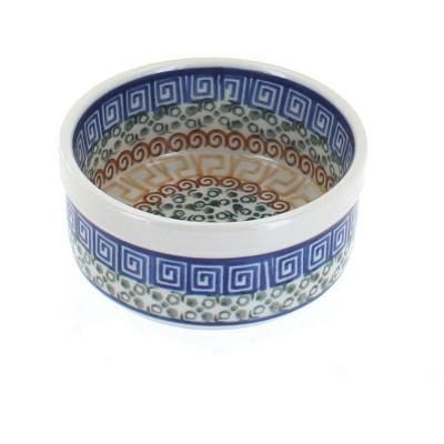 Blue Rose Polish Pottery Athena Small Ramekin