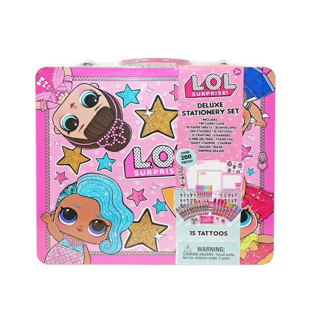 Image of L.O.L. Surprise! Deluxe Stationery Set