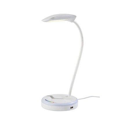 Dimmable Desk Lamp with RGB Nightlight (Includes LED Light Bulb) - Adesso