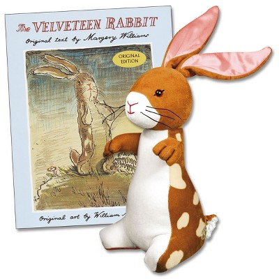 Yottoy Velveteen Rabbit Plush and Hard Book Set