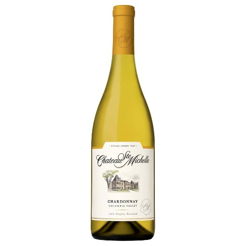 Chateau Ste Michelle Chardonnay White Wine - 750ml Bottle - image 1 of 4