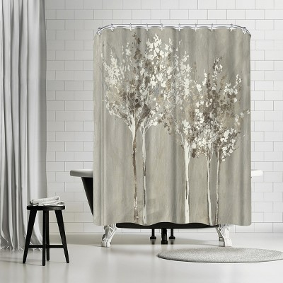 "Americanflat Dusky by Pi Creative Art 71"" x 74"" Shower Curtain"