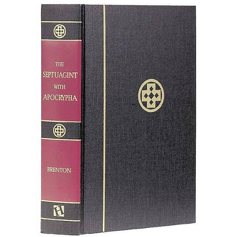 Septuagint with Apocrypha-PR-Greek/English - (Hardcover) - image 1 of 1