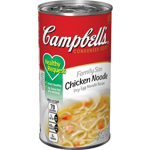 Campbell's® Condensed Healthy Request® Chicken Noodle Soup 22.4 oz - image 1 of 5