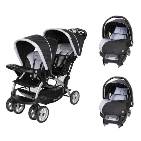15++ Baby trend double stroller folded dimensions information