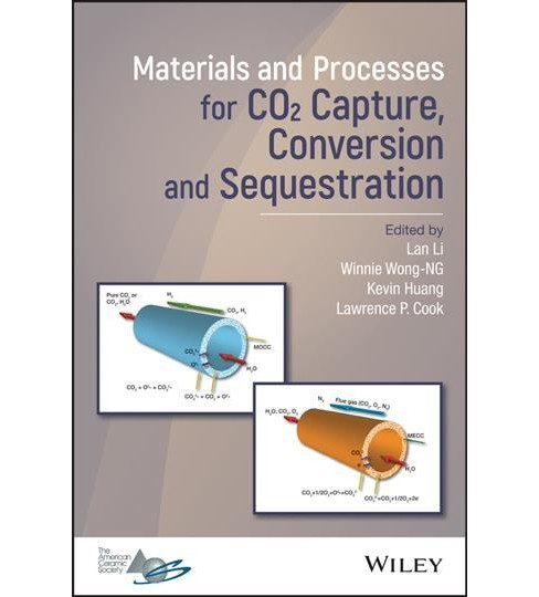 Materials and Processes for Co2 Capture, Conversion and Sequestration -  (Hardcover) - image 1 of 1