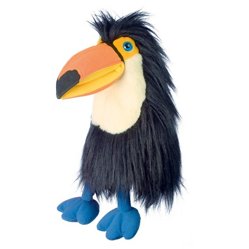 The Puppet Company Large Bird Plush Puppet - Orange Billed Toucan - image 1 of 1
