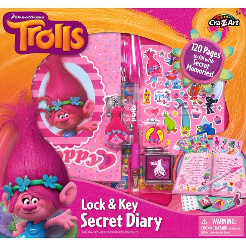 Trolls Create Your Own Secret Diary - image 1 of 4
