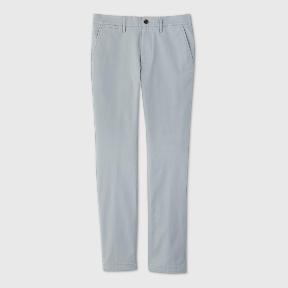 Men 39 S Skinny Fit Chino Pants Goodfellow 38 Co 8482 Masonry Gray 32x32