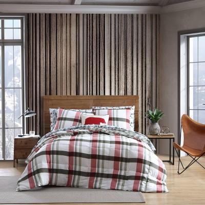 Stanton Plaid Comforter & Sham Set - Eddie Bauer