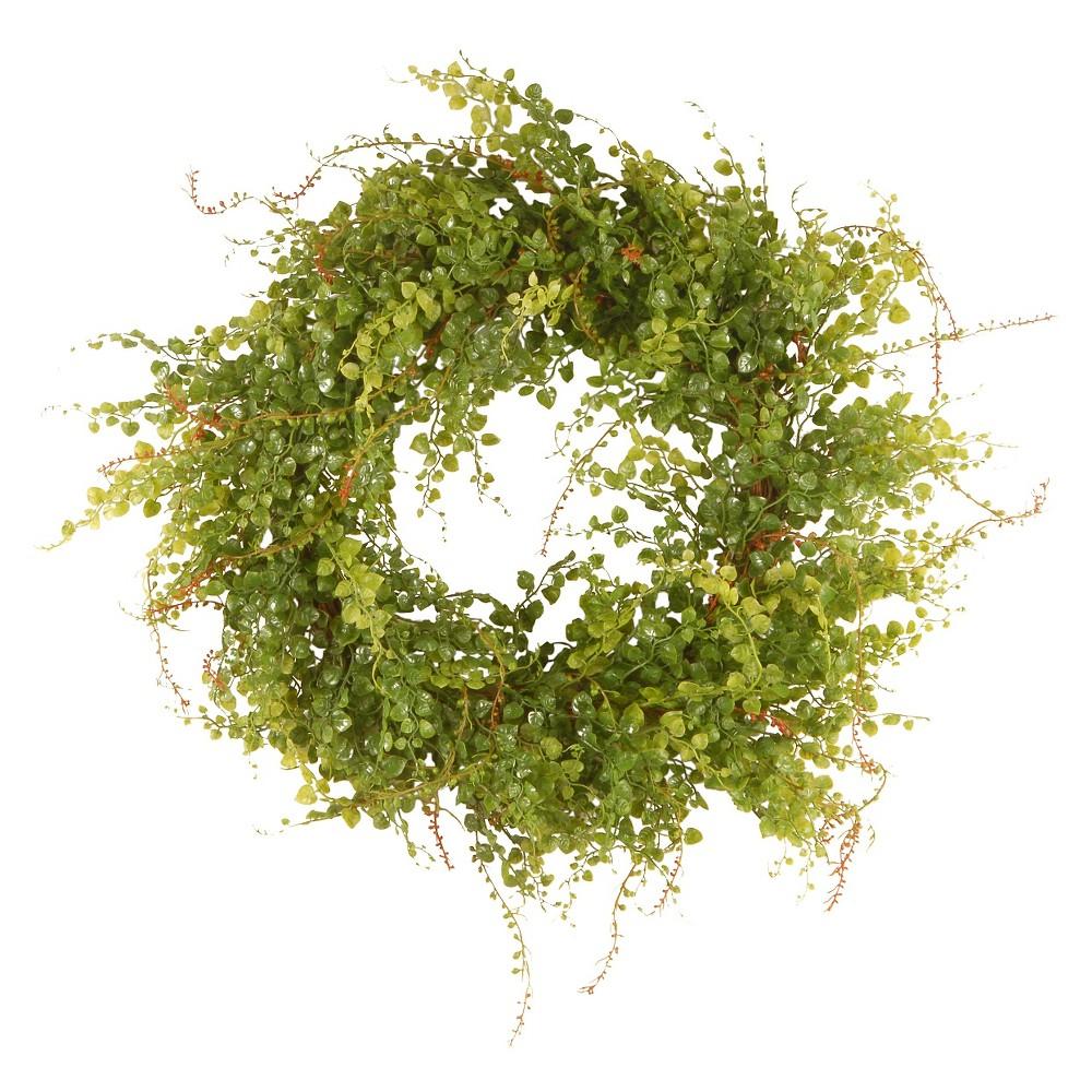 Garden Accents Hotag/Berry Wreath - Green (22)