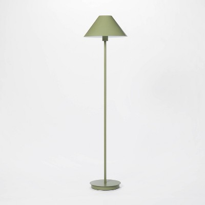 Stick Metal Floor Lamp (Includes LED Light Bulb)Green - Threshold™ designed with Studio McGee