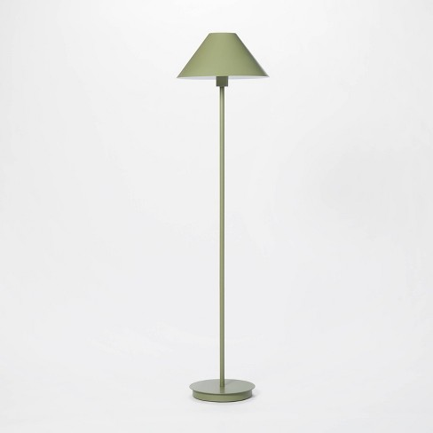 Stick Metal Floor Lamp (Includes LED Light Bulb) Green - Threshold™ designed with Studio McGee - image 1 of 4