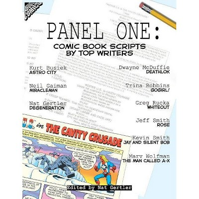 Panel One - (Panel One Scripts by Top Comics Writers Tp (New Prtg)) by  Jeff Smith & Neil Gaiman (Paperback)